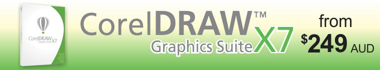 CorelDRAW X7 from $249